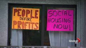 Burnaby demoviction protestors fight for affordable housing