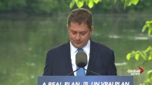 Scheer says climate plan will focus on fighting climate change globally