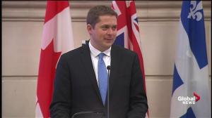 New Conservative leader Andrew Scheer has a message for Canadians
