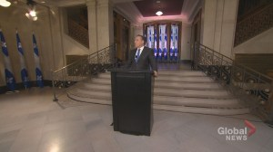 Legault holds first presser as Quebec premier