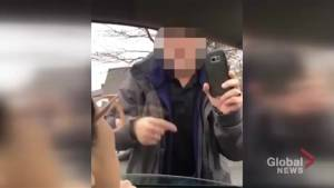 Halifax couple says they're 'shocked' over racist comment made during road rage incident (01:41)