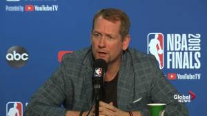 'In the playoffs, you have to make adjustments even when you're winning': Nick Nurse
