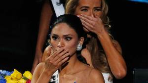 Miss Universe says crowning moment was confusing