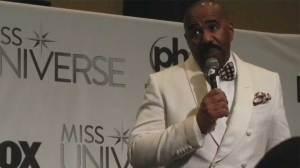 Steve Harvey explains mistaken Miss Universe announcement, dismisses need for training