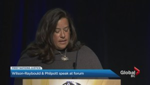 Jane Philpott and Jody Wilson-Raybould speak in Richmond