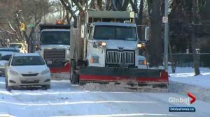 Residential streets to be plowed Wednesday after snowfall Sunday