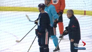 Edmonton Oilers still experimenting with different lines ahead of NHL regular season