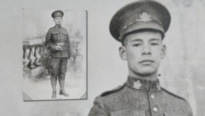 Chinese-Canadian soldier's contributions are finally being remembered