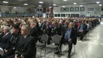 Hundreds attend funeral for late MP Gord Brown in Gananoque