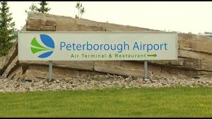 Police probe lasers pointed at planes at Peterborough Airport