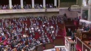 Trudeau touts trade at French National Assembly
