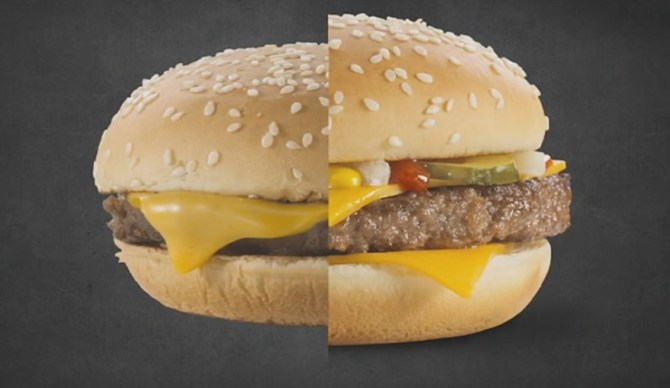 Advertising Vs Real Life Why The Food We Eat Doesn T Look
