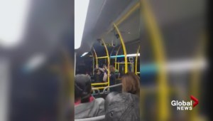 Angry confrontation on West Vancouver bus caught on video