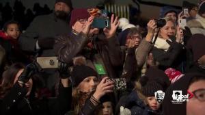 Trump leads countdown to lighting of National Christmas Tree