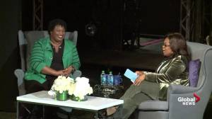 Stacey Abrams tells Oprah Winfrey 'losing prepares you for success'