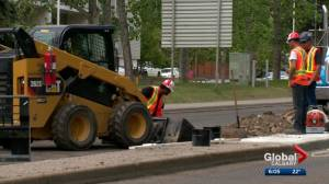 City of Calgary urges patience as summer paving season gets underway