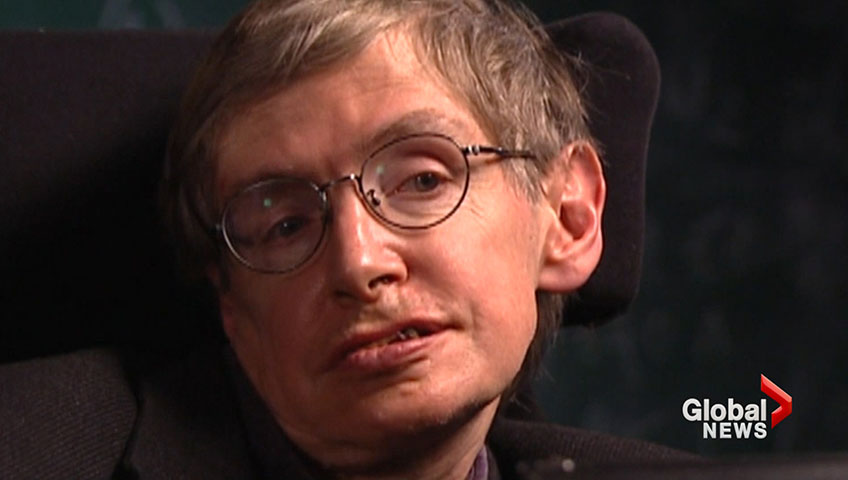 Genius Quotes From Stephen Hawking [SLIDESHOW]