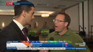 Ontario Election: Green Party leader Mike Schreiner optimistic as votes come in