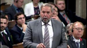 NDP question omitting edible cannabis from marijuana legislation