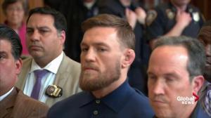 Conor McGregor ordered to stay away from fighters involved in UFC melee