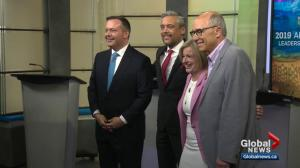 Alberta leaders hope debate put their party over the top