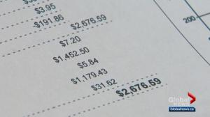 Alberta mom has questions about water bill totaling more than $2,600
