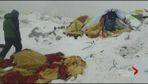 Toronto residents escape deadly avalanche on Everest following Nepal earthquake