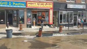 Businesses dealing with aftermath of water main break (02:23)
