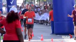 Will Smith checks off an item on his bucket list, running a half marathon in the streets of Havana
