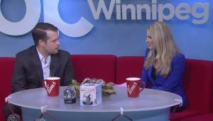 How to celebrate the holidays with the Manitoba Moose hockey team (02:45)