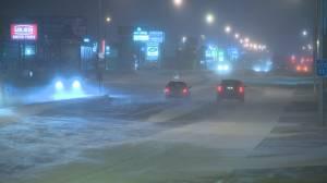 Winter weather wreaks havoc on Regina roads