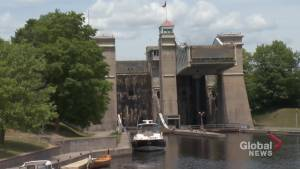 A tour along the Trent-Severn Waterway aboard the Liftlock & Riverboat Cruise (03:22)