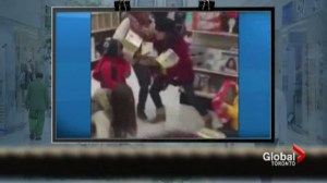Fights break out during Black Friday