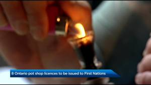 8 Ontario pot shop licenses to be issued to First Nations (03:35)