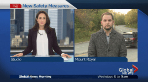 City of Montreal making safety changes on Camillien-Houde Road