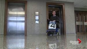 Wheelchair users go to court to force human rights commission to hear their complaint (01:50)