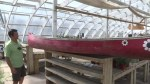 Stolen red canoe returned to St. Boniface playground