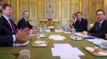 France's Macron meets with Facebook's Zuckerberg to press him on tackling hate on platform