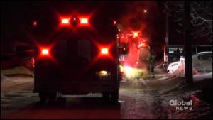 Garage fire breaks out at Mountain Ash Road home in Peterborough