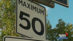 Edmonton to consider lowering speed limits in residential communities
