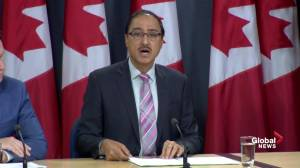Ottawa announces it won't appeal Trans Mountain court decision, will re-do Indigenous consultations