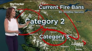 B.C. evening weather forecast: May 6
