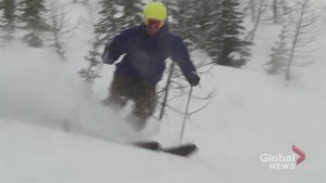Carving power with Olympic cross-country skier Russell Kennedy