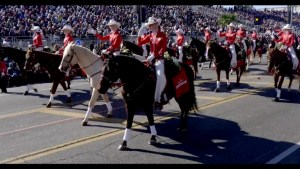 'A once-in-a-lifetime experience!': Calgary Stampede Showband marches in Rose Bowl parade
