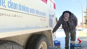 Water main break leave nearly 200 Calgary homes without water