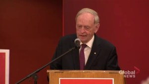 Jean Chrétien calls Andrew Scheer 'Harper lite', says he doesn't know his name