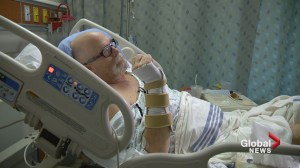 Calgarian who barely survived crash now in search of good Samaritans who saved his life