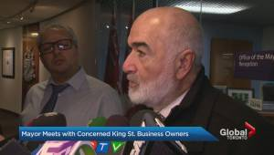 King Street stakeholders take pilot project concerns to Toronto city hall