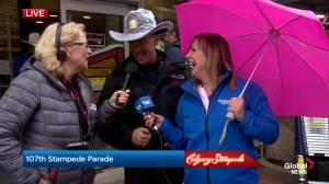 CPS Chief Mark Neufeld discusses his first Stampede Parade