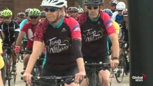 Tour De L'Alberta cycling event south of Edmonton this weekend